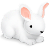 Follow The White Rabbit. View Text mode only. Image inserted by SSuite Office Fandango Desktop Editor